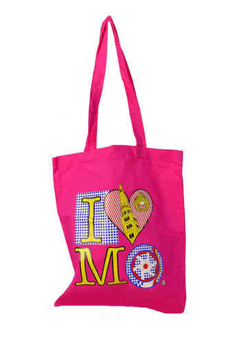 "Borsa Shopper ""I love Modena"" Rosa"